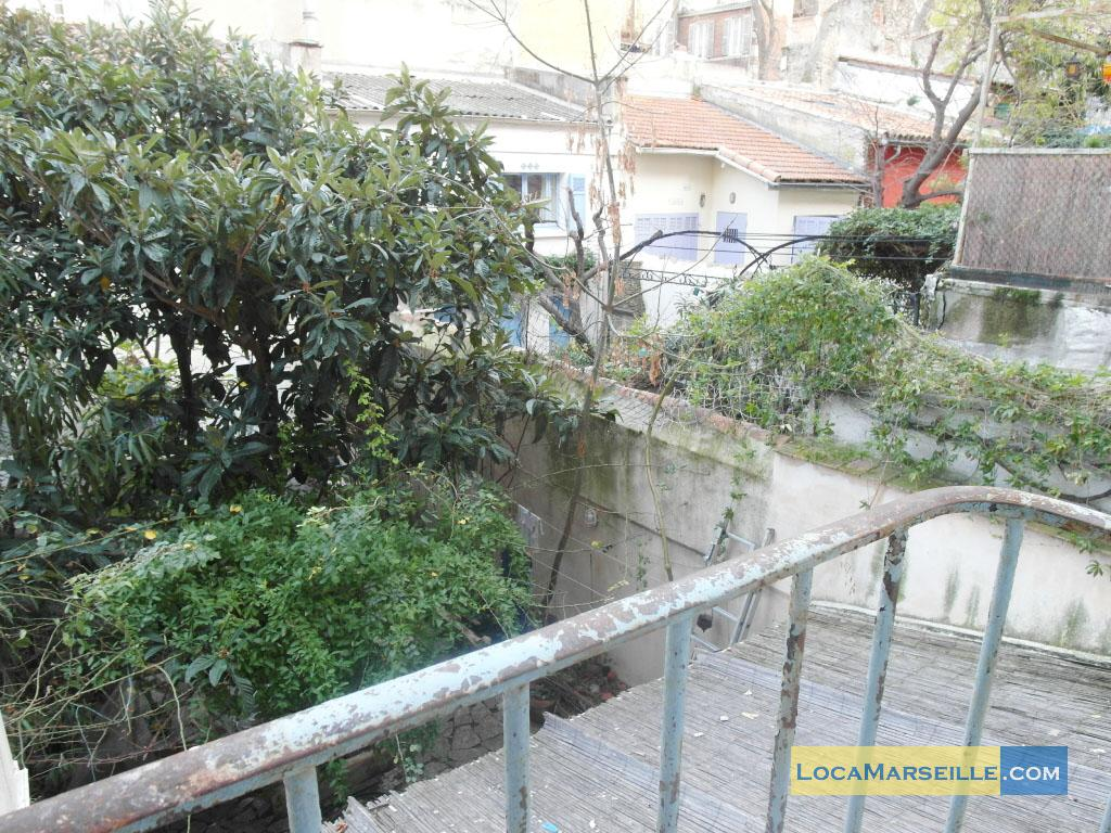 Marseille location meubl e appartement type t3 jardin senac - Location appartement avec jardin marseille ...