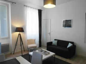 Appartement Black and white - type T2