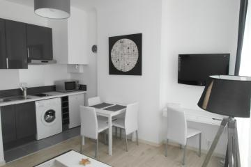 Appartement Black and white