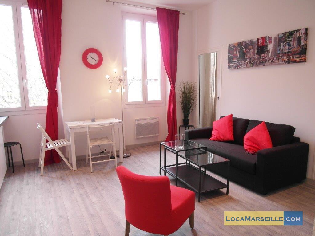 Marseille location meubl e appartement type t2 phocea garden for Location appartement design marseille