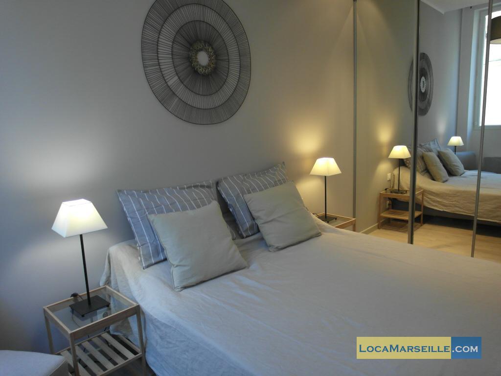 Location meubl e marseille appartement type t2 moliere 3d for Chambre a coucher 3d