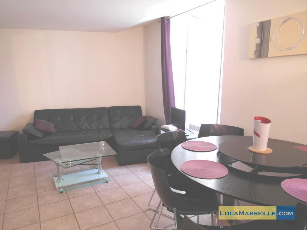 Location meubl e marseille appartement type t2 lenche for Location appartement design marseille