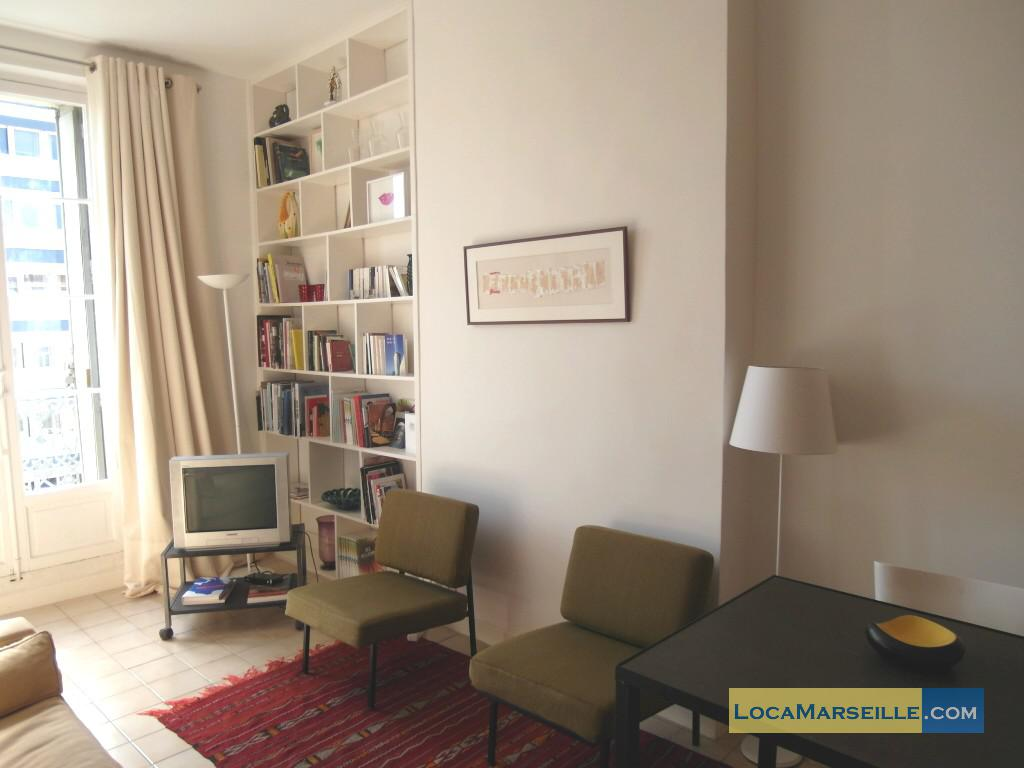 Location meublée marseille appartement type t2 joliette