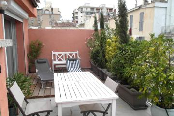 type T2 of Terrasse belle vue Appartement Saint-Victor