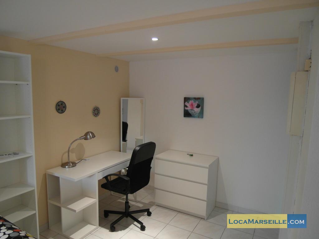 marseille location meubl 233 e appartement type t1 studio un jardin en ville